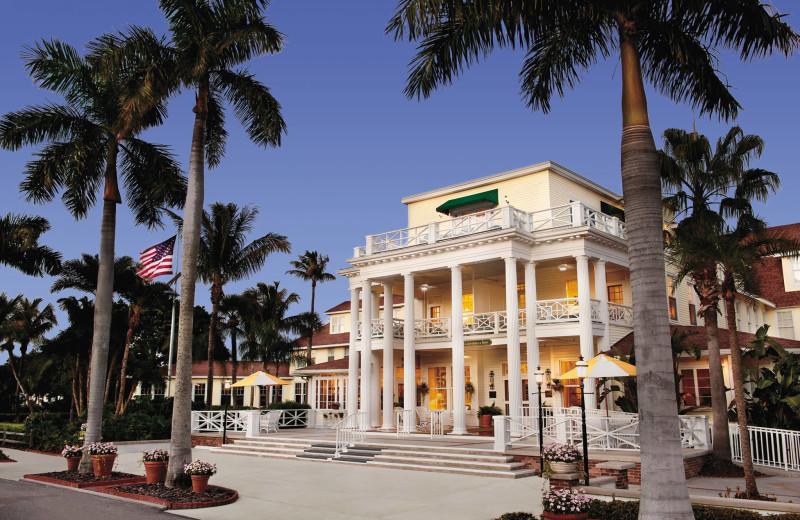 Exterior view of The Gasparilla Inn & Club.