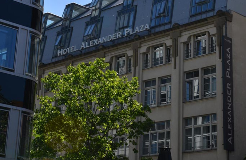 Exterior view of Alexander Plaza.
