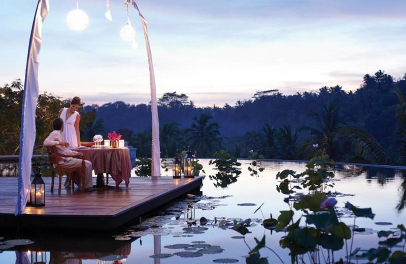 Dining at Four Seasons - Bali at Sayan.