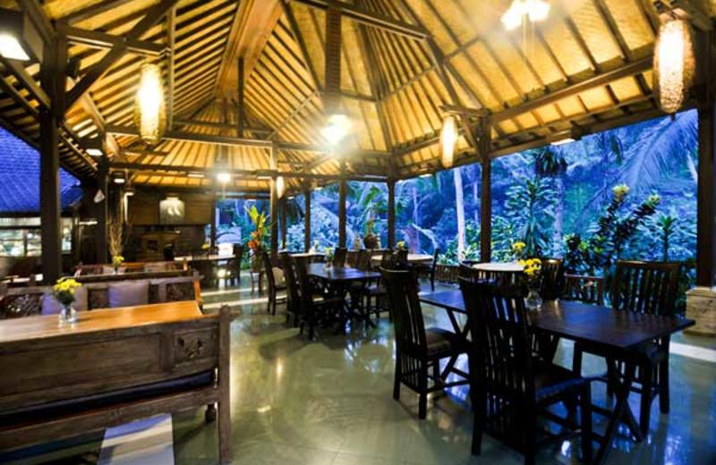 Dining at Bali Spirit.