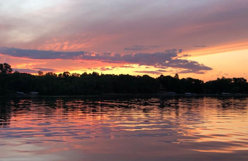 Sunset at Betsy Ross Resort.