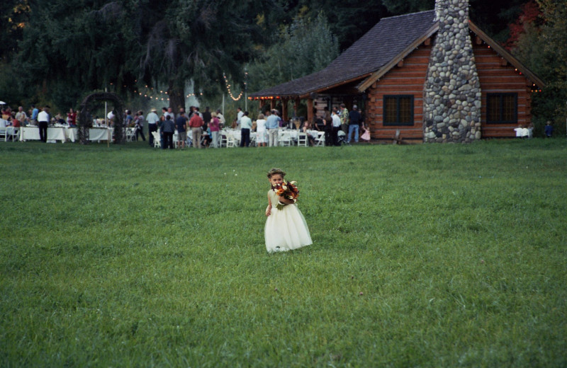 Wedding at Mountain Springs Lodge.