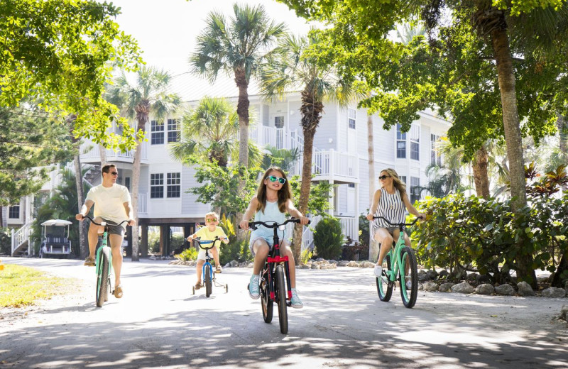Biking at Palm Island Resort.