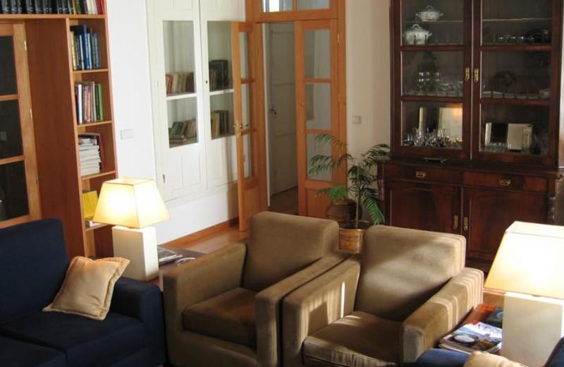 Lounge at Casa de Alfena - Minho (Northern Portugal).
