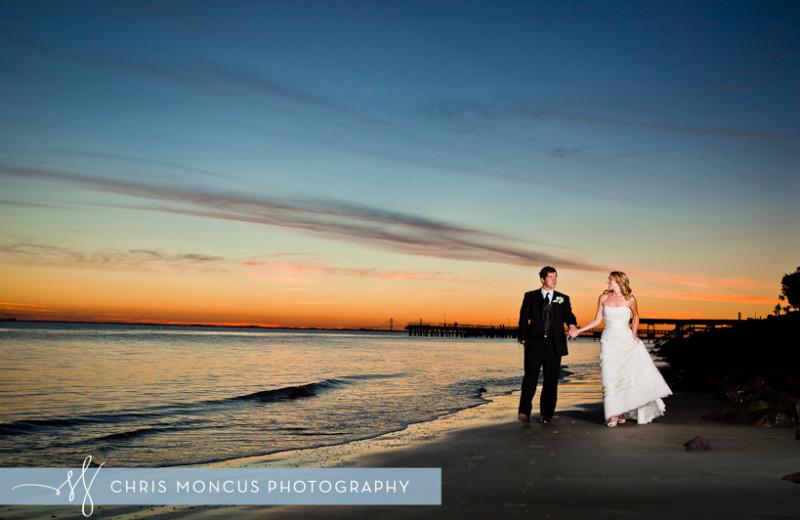 Beach weddings at Hodnett Cooper.