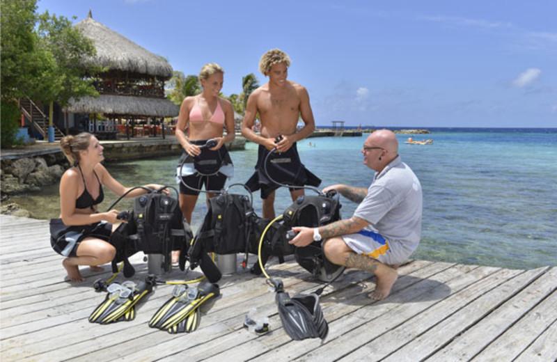 Diving at Chogogo Resort.