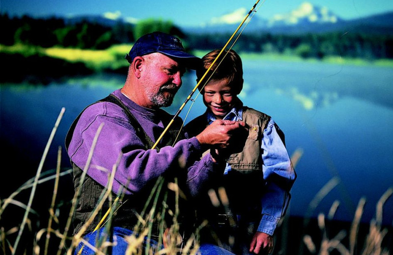Fishing at Black Butte Ranch.
