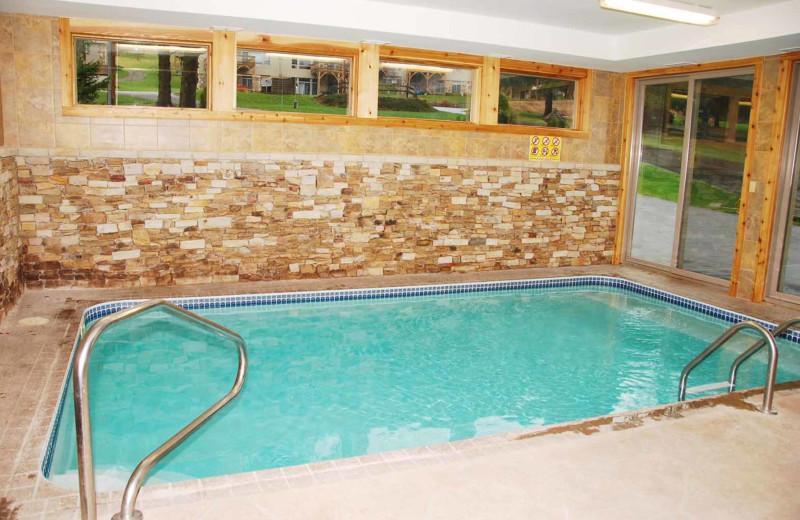 Rental pool at Railey Mountain Lake Vacations.