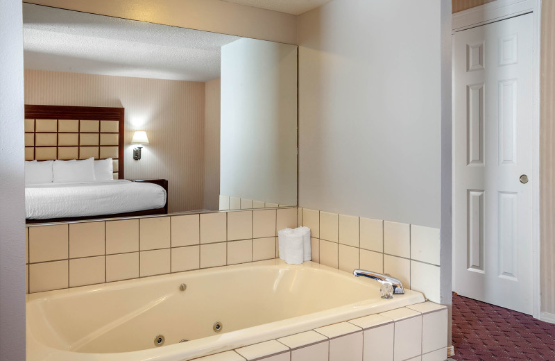 Guest room at Clarion Hotel