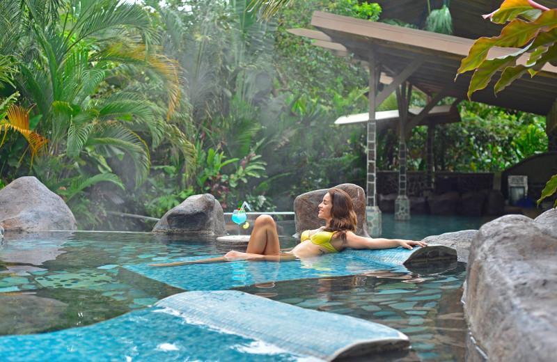 Hot spring near Costa Rica Luxury Lifestyle.