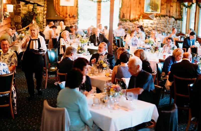 Banquets at Holiday Acres Resort.