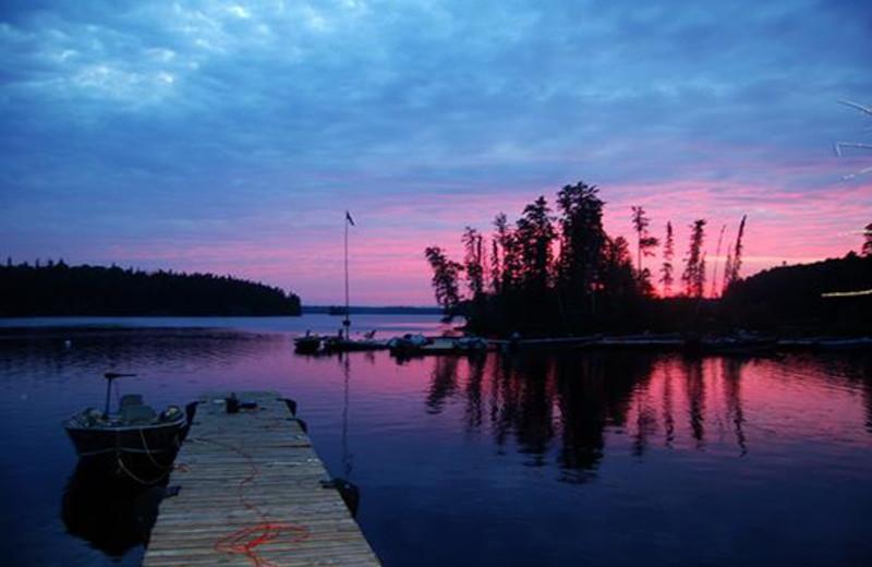 The Lake at Woman River Camp