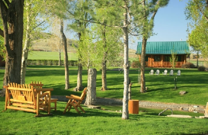 Exterior at The Hideout Lodge & Guest Ranch.