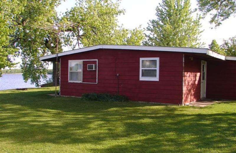 Lakeview Cabin at Ten Mile Lake Resort.