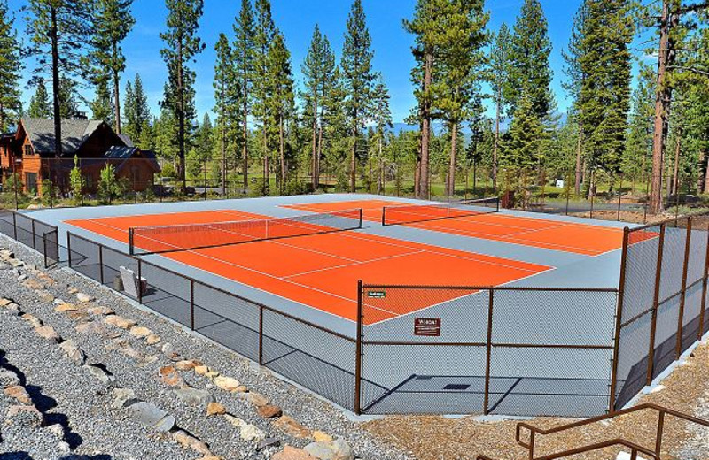 Onsite Amenities are available through Tahoe Signature Properties including tennis.