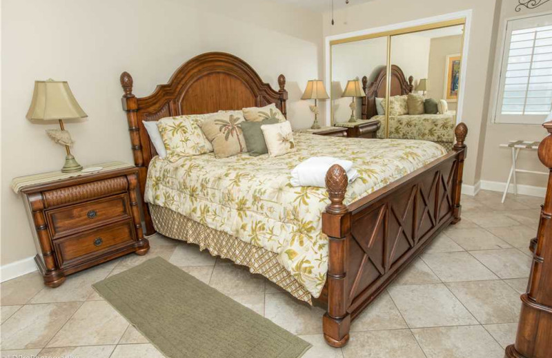 Bedroom at Holiday Isle Properties - Holiday Surf & Racquet 614.