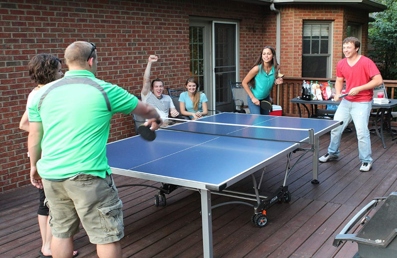 Ping pong at Inn At Lake Joseph.