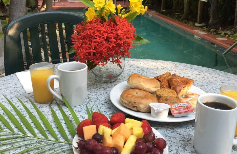 Breakfast at Westwinds Inn.
