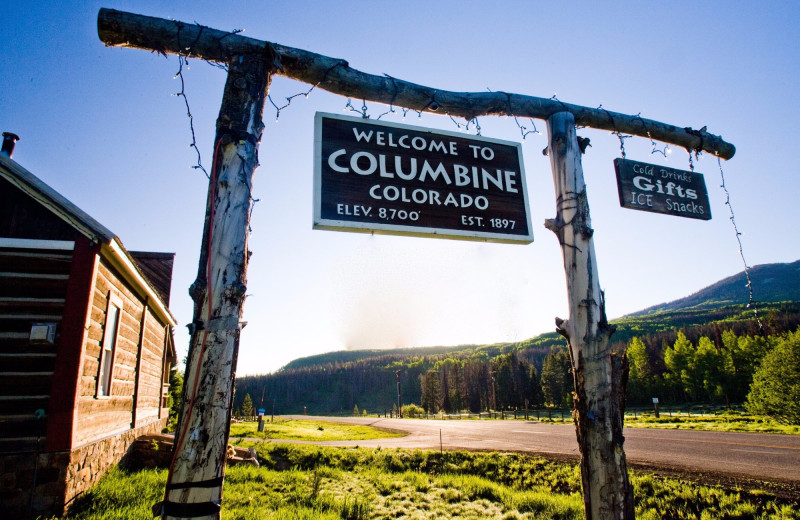 Exterior view of The Cabins at Historic Columbine.