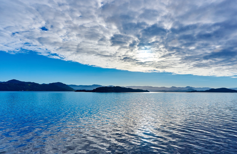 Lake near Super 8 Perham.
