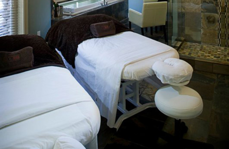 Spa Massage Tables at Old House Village Hotel and Spa