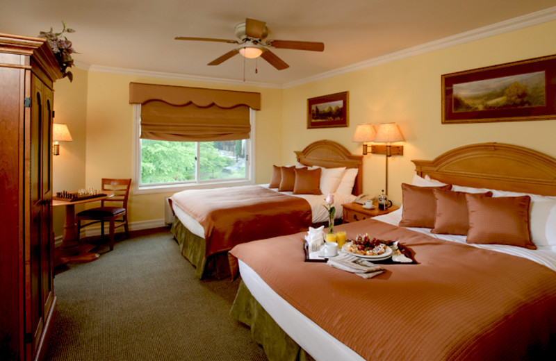 Guest room at Crystal Springs Resort.