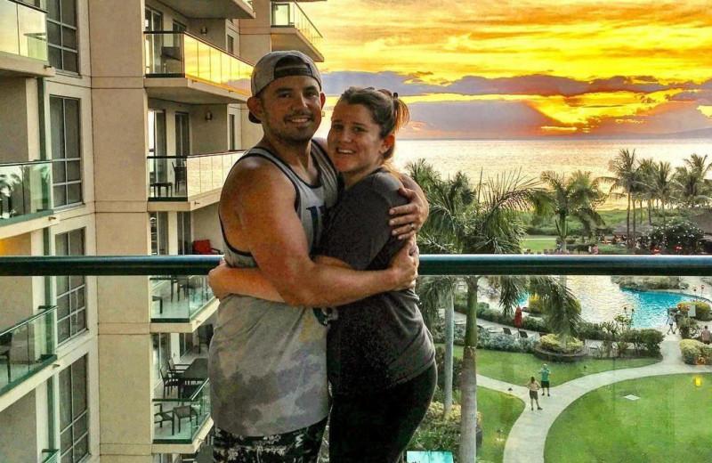 Couple at Honua Kai Resort & Spa.