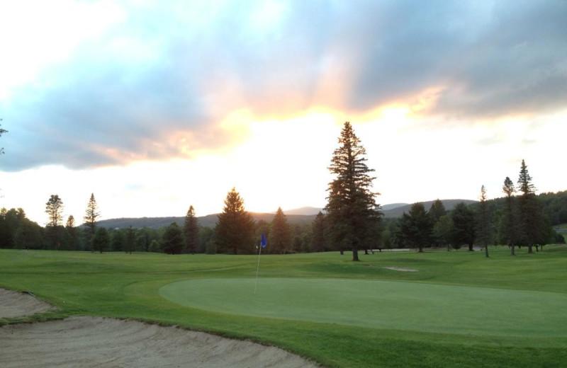 Golf course near Hotel Vienna.