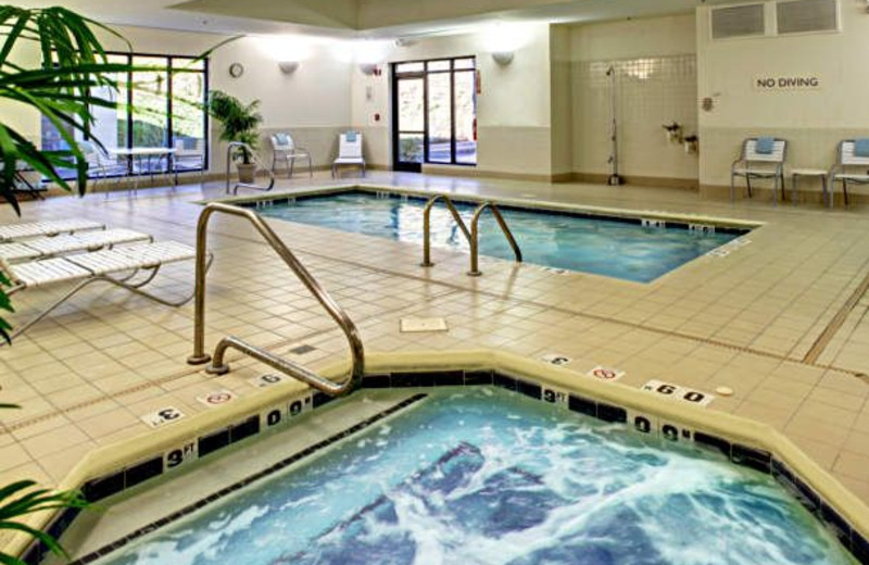 Indoor Pool at the Fairfield Inn & Suites Asheville South/Biltmore Square