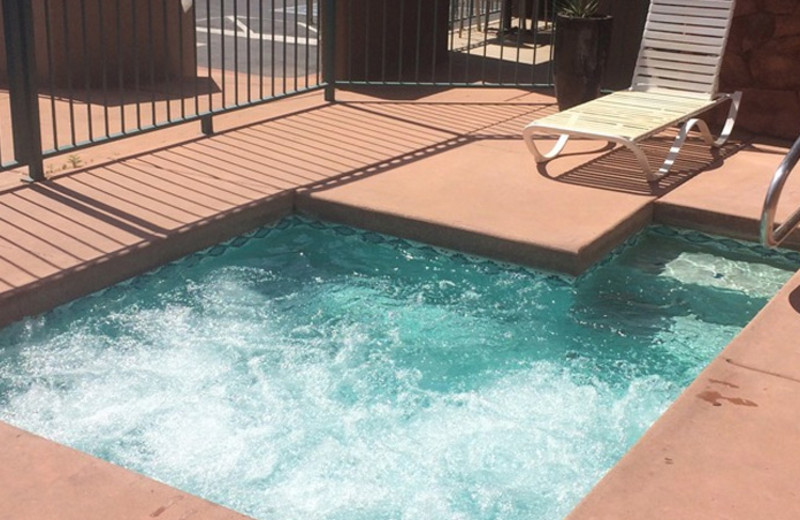 Outdoor pool at Southwest Inn at Sedona.