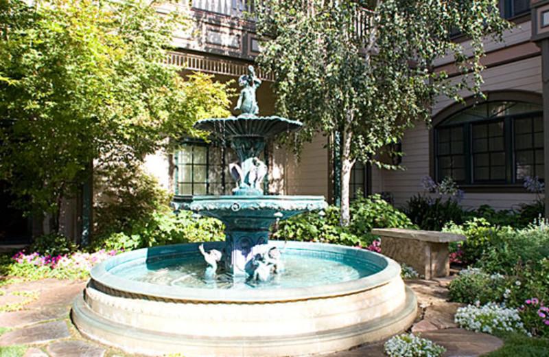 Inn Fountain at Santa Ynez Inn