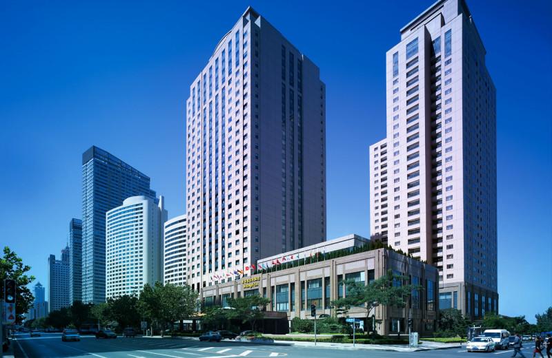 Exterior view of Shangri-La Hotel-Dalian.