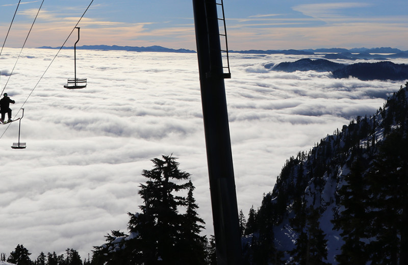 View from Summit at Snoqualmie.