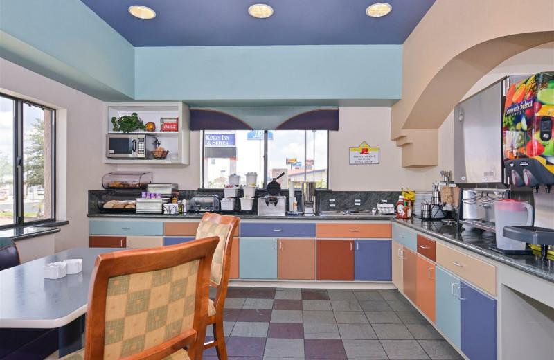 Breakfast at Best Western Plus King's Inn & Suites.