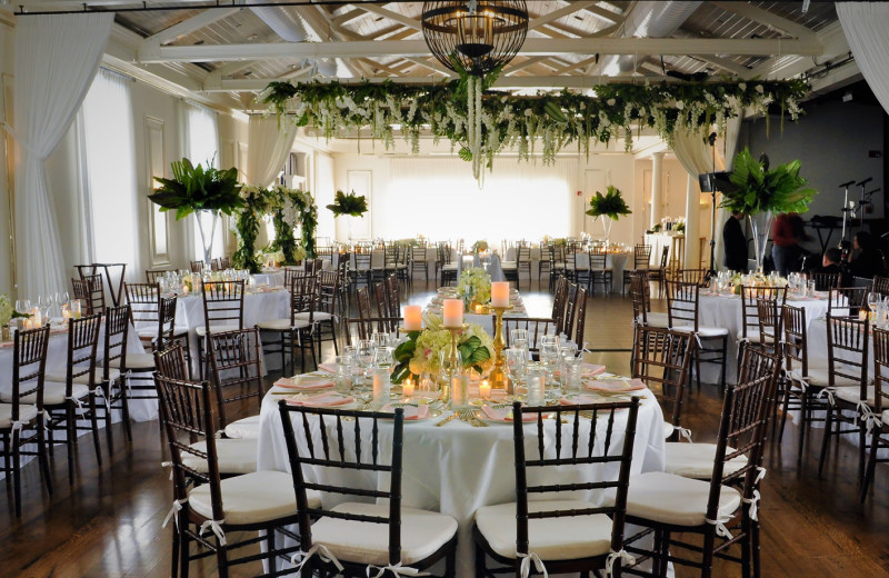 Wedding reception at The Nantucket Hotel and Resort.