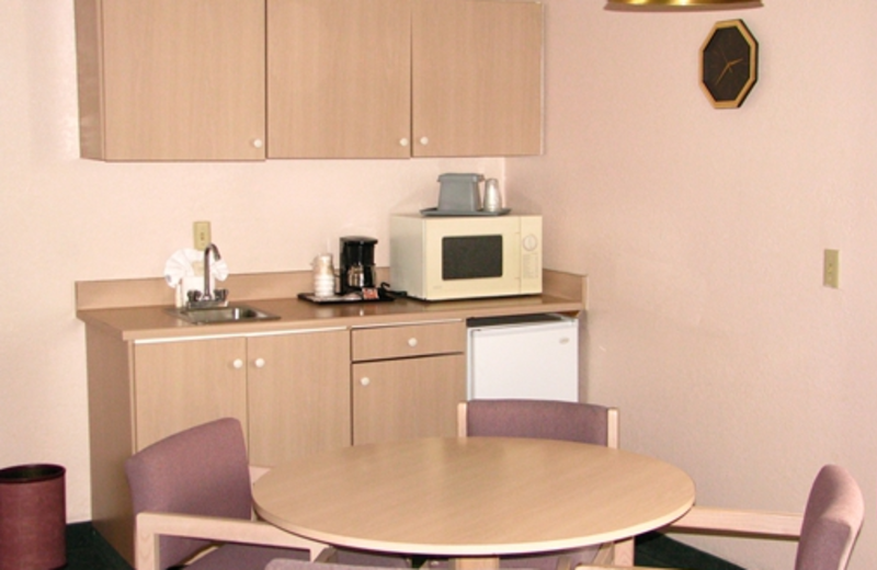 Suite Kitchen at Branson Towers Hotel