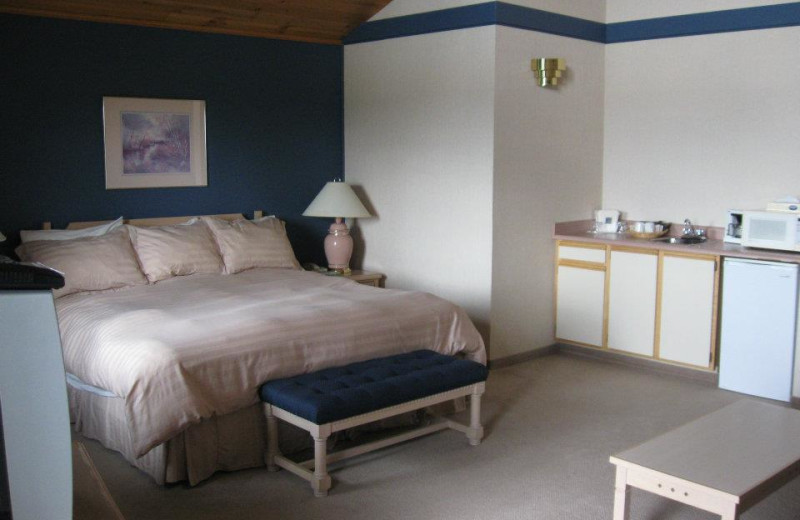 Guest room at The 108 Resort.