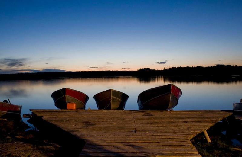Scenic view at Uchi Lake Lodge.