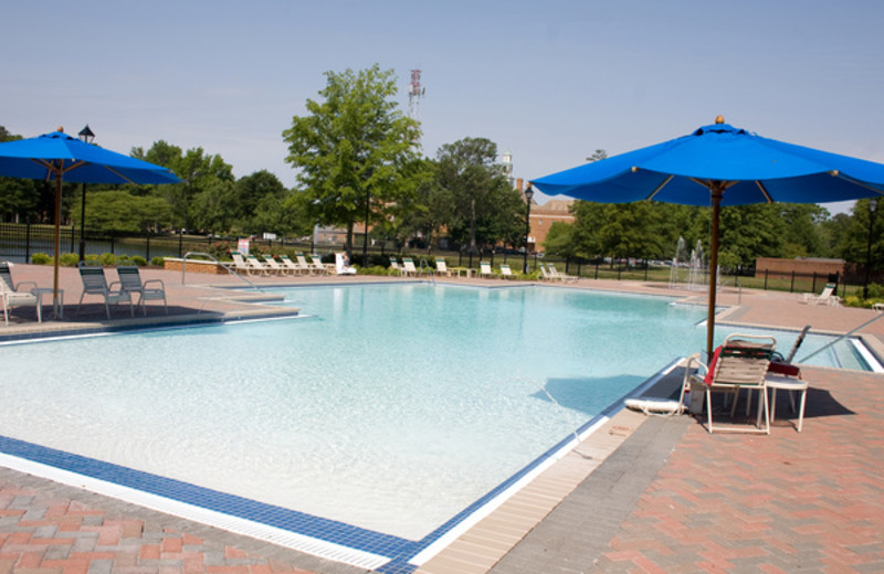 Outdoor Pool at The Founders Inn