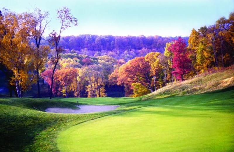Golf Green View at  Eagle Ridge Resort