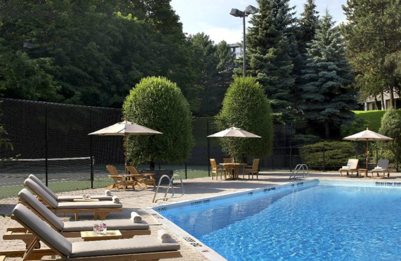 Outdoor Pool at The Westin Prince, Toronto