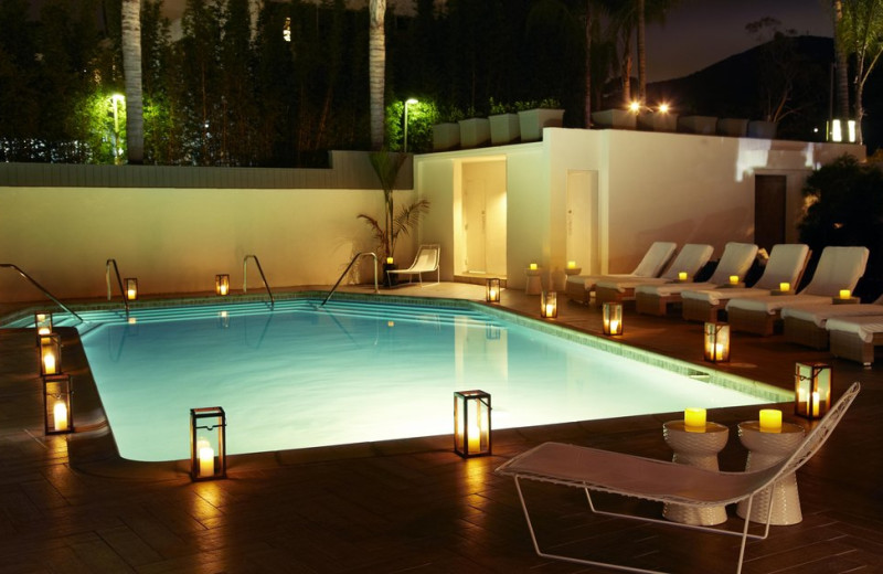 Outdoor pool at Hotel La Jolla at the Shores.