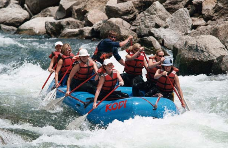 River rafting near Beaver Run Resort.