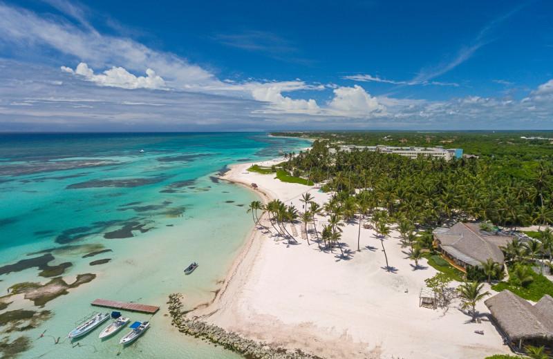 Aerial view of Punta Cana Resort & Club.