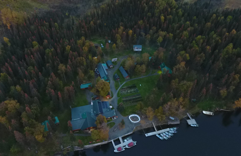 The lodge was originally established in 1984 on a remote homestead site on the Anvik River in Western Alaska.  We're surrounded by federal lands and are the only lodge on the entire river.