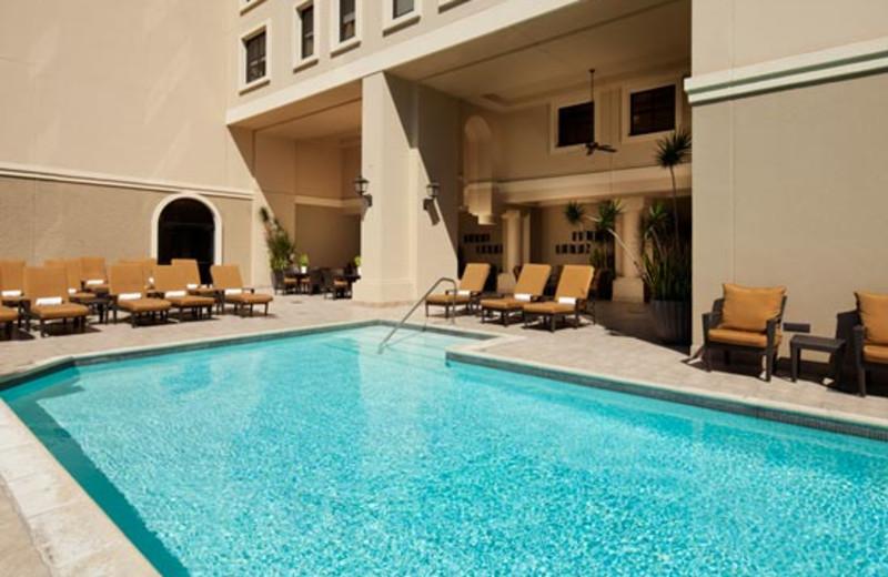 Outdoor pool at The Westin Horton Plaza San Diego.