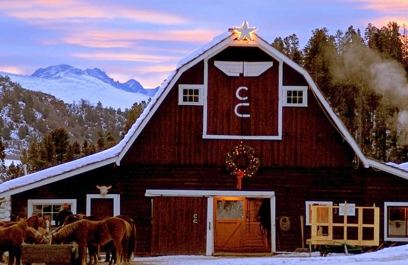 Winter at C Lazy U Ranch.