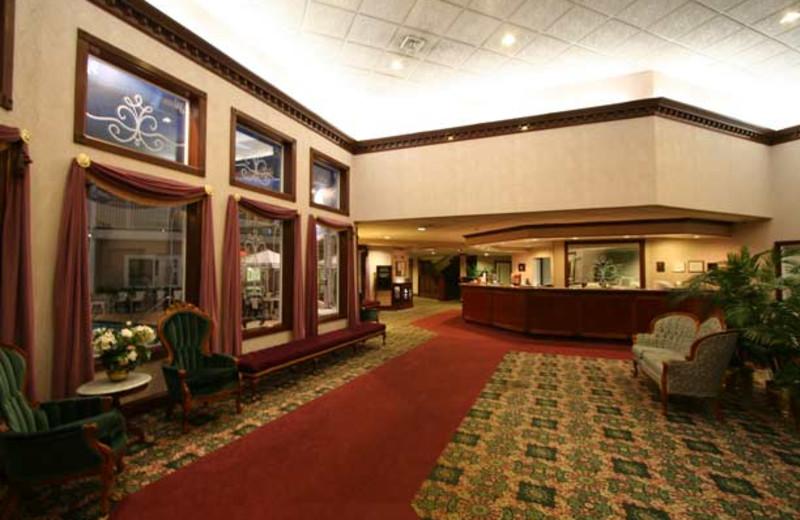 Lobby view at Bayshore Resort.