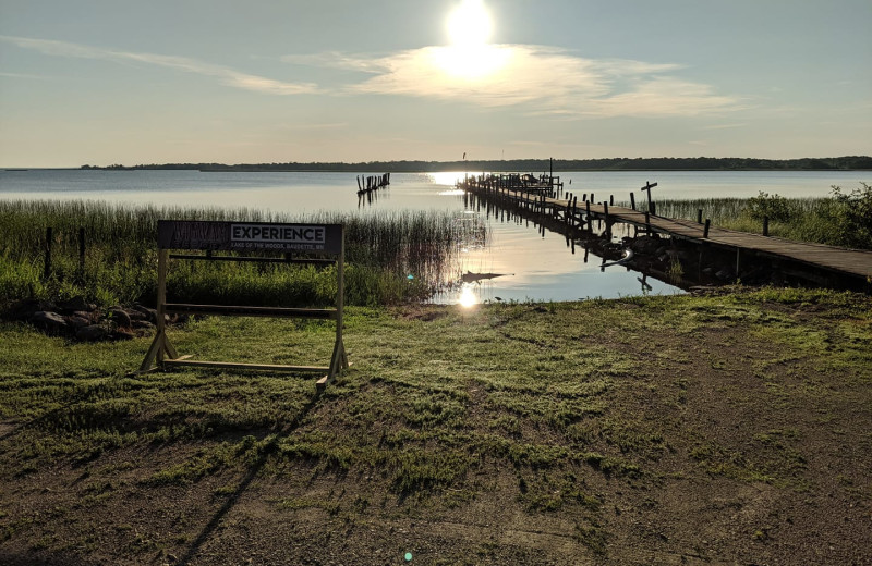 Lake at Wigwam Resort.