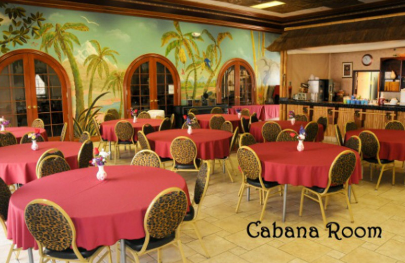 Cabana room at Clarion Hotel at The Palace.